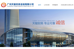 广州网站建设案例: 财税咨询公司网站建设