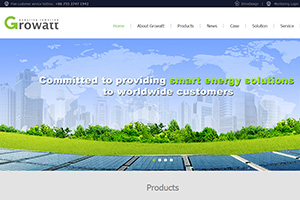 新能源科技外贸公司_PC手机网站制作